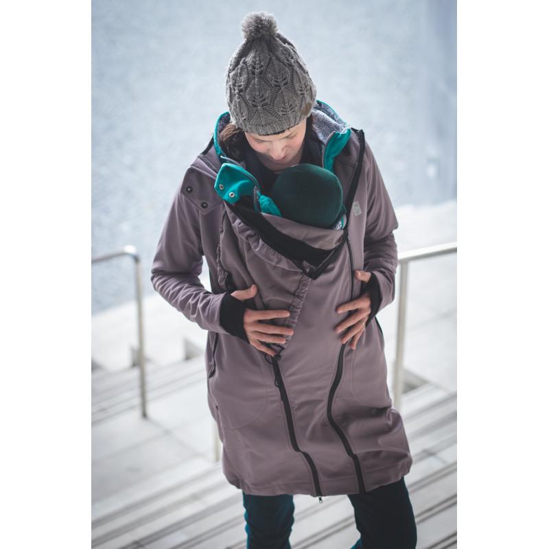 Sportovně-elegantní softshellový kabát 288ea3e9d7